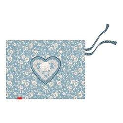 Подкладка настольная текстильная ErichKrause® Lacey Heart, A3+ 52730