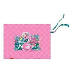 Подкладка настольная текстильная ErichKrause® Rose Flamingo, A3+ 52733