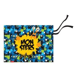 Подкладка настольная текстильная ErichKrause® Monsters, A3+ 52738