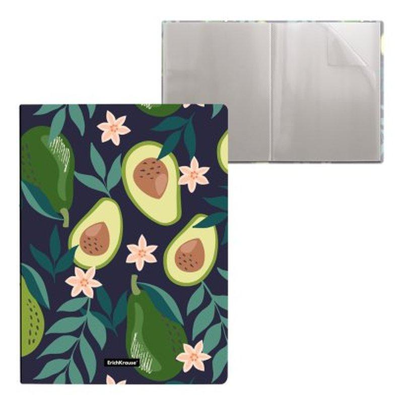 Папка файловая пластиковая ErichKrause® Avocado Dusk, с 20 карманами, А4 52761