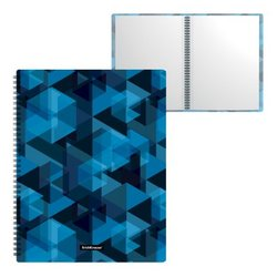 Папка файловая пластиковая на спирали ErichKrause® Ice Spectrum, с 40 прозрачными карманами, A4 52787