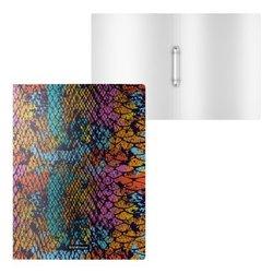Папка на 2 кольцах пластиковая ErichKrause® Colourful Squama, 24мм, A4 52802