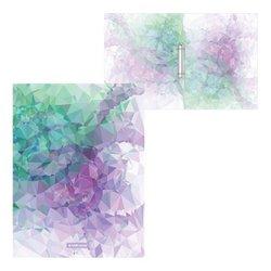 Папка на 2 кольцах пластиковая ErichKrause® Violet Dynamique, 24мм, А4 52809