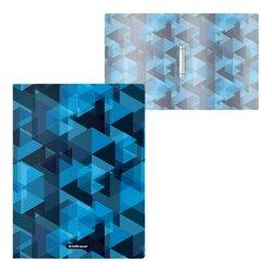 Папка на 2 кольцах пластиковая ErichKrause® Ice Spectrum, 24мм, A4 52810