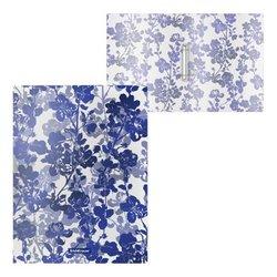 Папка на 2 кольцах пластиковая ErichKrause® Crystal Flowers, 24мм, A4 52811