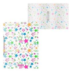 Папка на 2 кольцах пластиковая ErichKrause® Neon Stars, 24мм, А4 52815