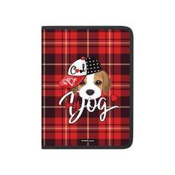 Папка для тетрадей на молнии пластиковая ErichKrause® Cute Dog, А4 52833