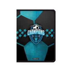 Папка для тетрадей на молнии пластиковая ErichKrause® Champions, А4+ (в пакете по 4 шт.) 52836