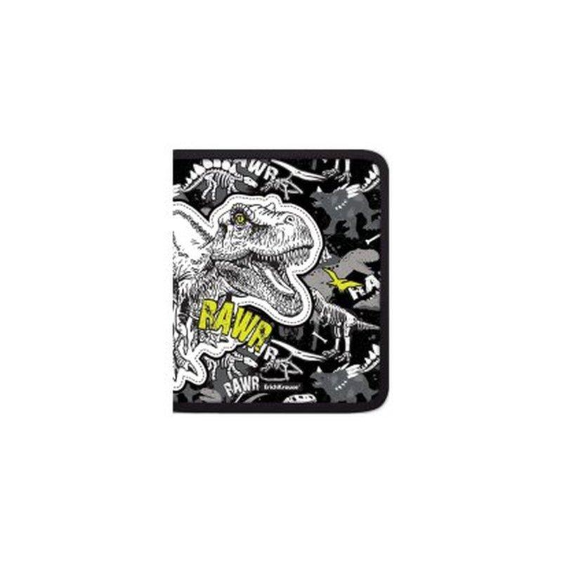 Папка для тетрадей на молнии пластиковая ErichKrause® Dinosaur Park, А5+ 52842