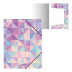Папка на резинках пластиковая ErichKrause® Magic Rhombs, A4 52893