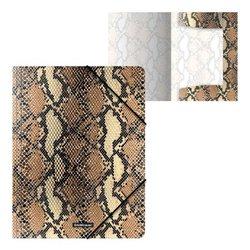 Папка на резинках пластиковая ErichKrause® Python Print, A4 52894