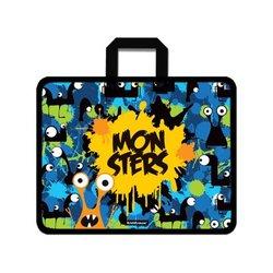 Папка пластиковая для творчества ErichKrause® Monsters, A4+ 52922