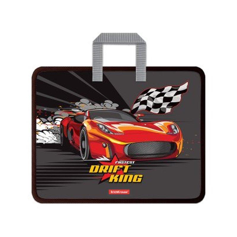 Папка пластиковая для творчества ErichKrause® Drift King, A4+ 52923