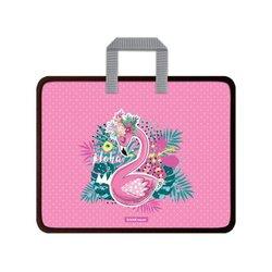 Папка пластиковая для творчества ErichKrause® Rose Flamingo, A4+ 52925