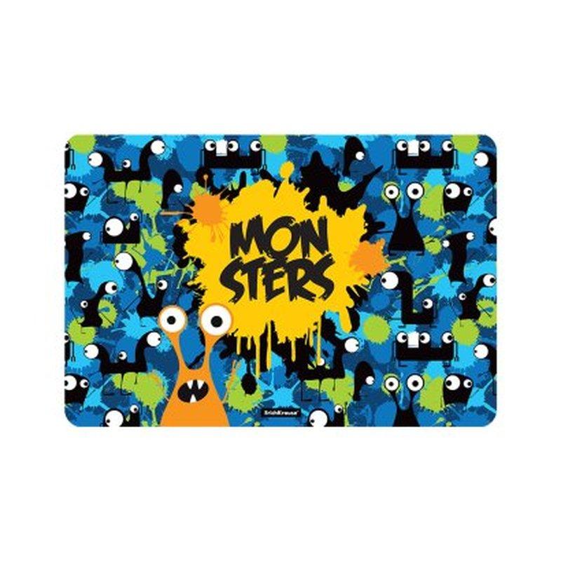 Подкладка настольная пластиковая ErichKrause® Monsters, А3 52930