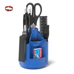 Набор настольный на вращающейся подставке ErichKrause® Mini Desk, синий 53226