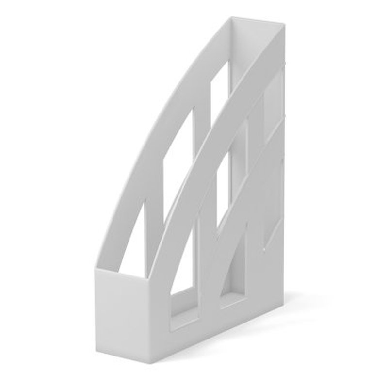 Подставка пластиковая для бумаг вертикальная ErichKrause® Office, белый 53241