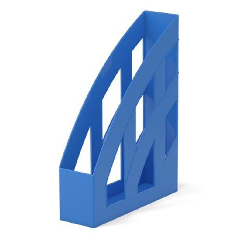 Подставка пластиковая для бумаг вертикальная ErichKrause® Office, синий 53242
