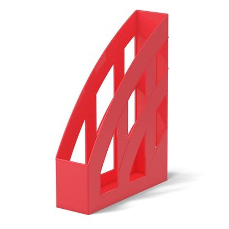 Подставка пластиковая для бумаг вертикальная ErichKrause® Office, красный 53243
