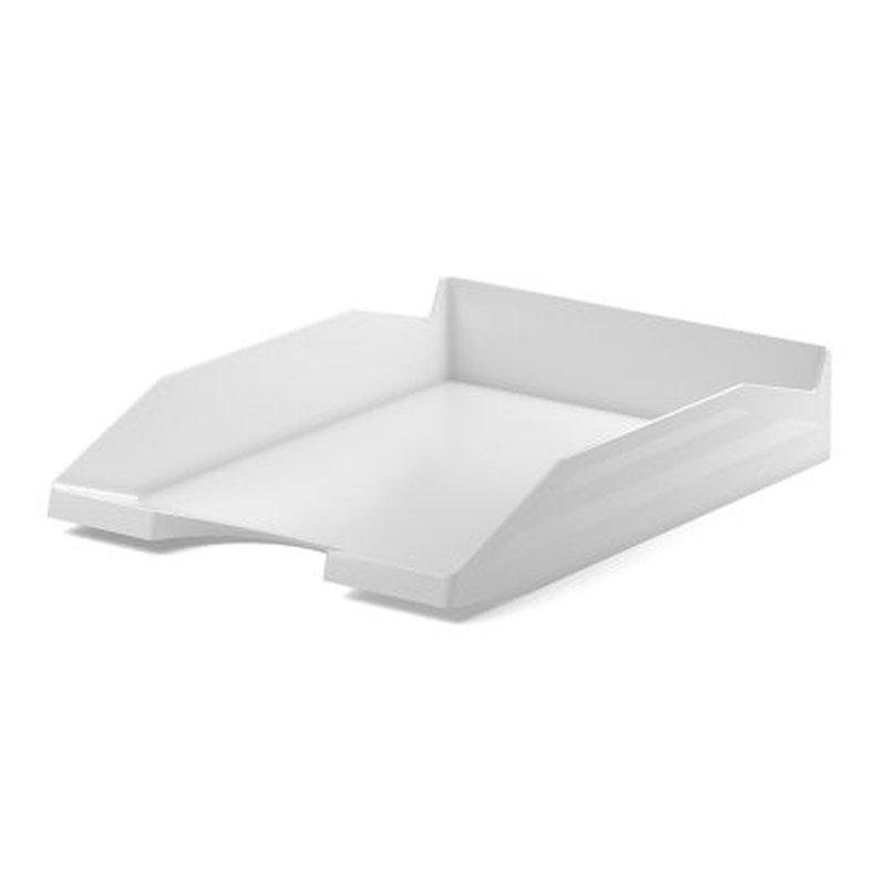 Лоток пластиковый для бумаг ErichKrause® Office, белый 53244