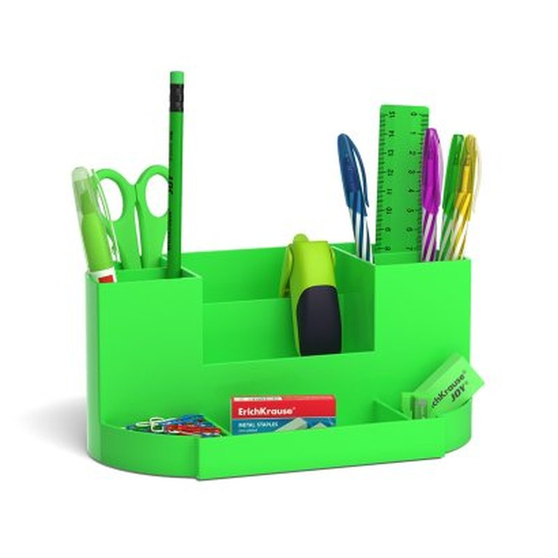 Набор настольный ErichKrause® Victoria, Neon Solid, зеленый 53264