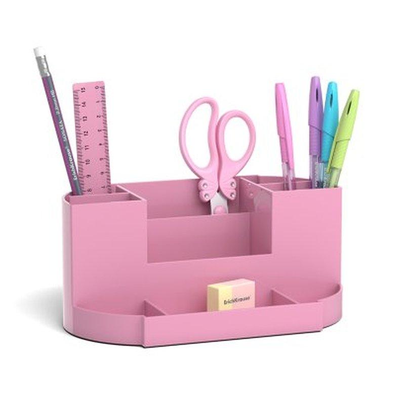 Набор настольный ErichKrause® Victoria, Pastel, розовый 53267
