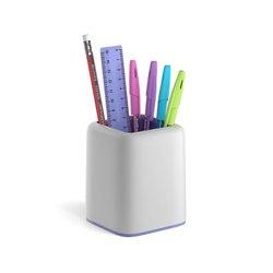Набор настольный ErichKrause® Forte, Pastel, белый с фиолетовой вставкой 53282