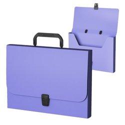 Портфель пластиковый ErichKrause® Matt Pastel, FC, фиолетовый 53304