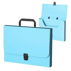 Портфель пластиковый ErichKrause® Matt Pastel, FC, голубой 53306