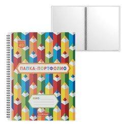 Папка-портфолио пластиковая ErichKrause® Creative Notes, c 40 карманами, A4 53374