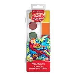 Краски акварельные ArtBerry® Neon с УФ защитой яркости 11 цветов с увеличенными кюветами 53406