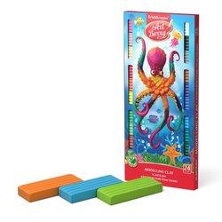 Классический пластилин ArtBerry® с Алоэ Вера 24 цвета со стеком, 432г 53411