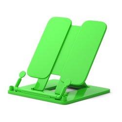 Подставка пластиковая для книг ErichKrause®, Neon Solid, зеленый 53529