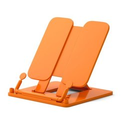 Подставка пластиковая для книг ErichKrause®, Neon Solid, оранжевый 53530