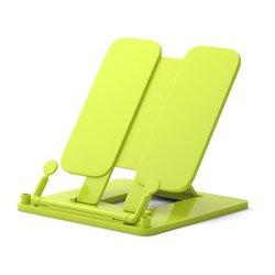 Подставка пластиковая для книг ErichKrause®, Neon Solid, желтый 53531