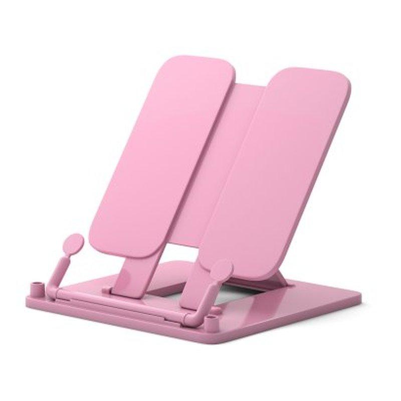 Подставка пластиковая для книг ErichKrause®, Pastel, розовый 53532