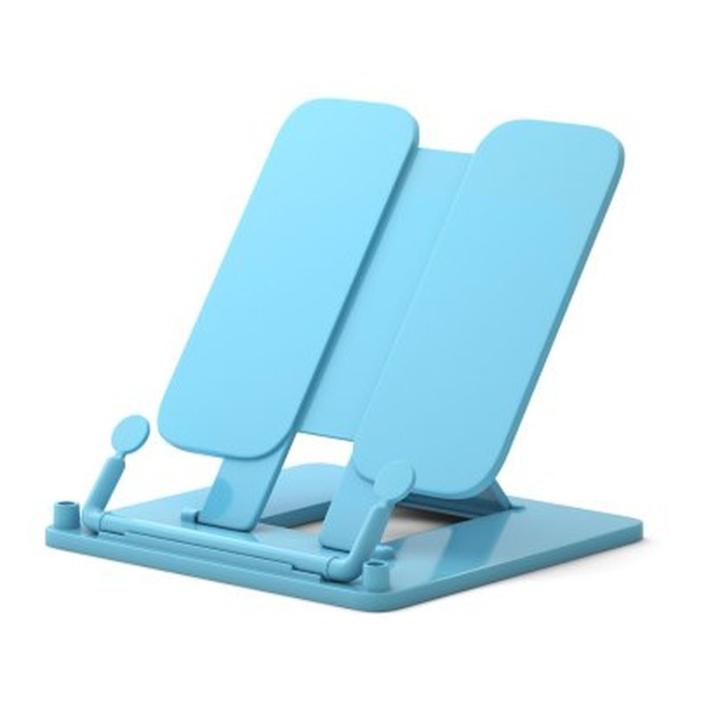 Подставка пластиковая для книг ErichKrause®, Pastel, голубой 53535