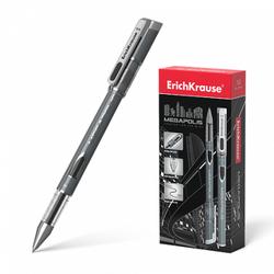 Ручка гелевая ErichKrause® MEGAPOLIS® Gel, цвет чернил черный (в коробке по 12 шт.) 93