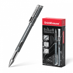 Ручка гелевая ErichKrause® MEGAPOLIS® Gel, цвет чернил черный 93