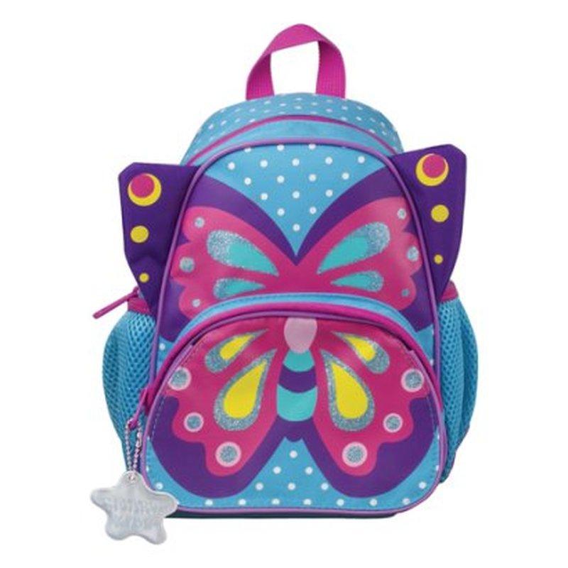 """Рюкзак TIGER FAMILY (ТАЙГЕР) для дошкольников, голубой, """"Sophie The Butterfly"""", 26х21х13 см, 5 литров, SKCS18-A04"""