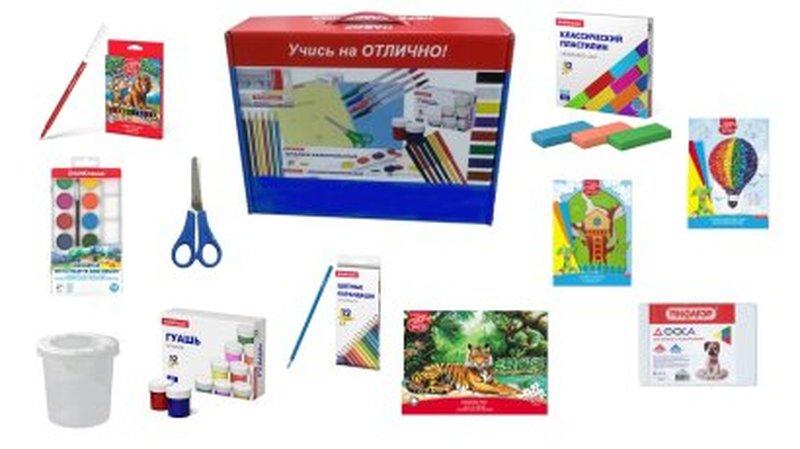 Набор для творчества с наполнением ErichKrause® 11 предметов, 12 цветов НТ-2