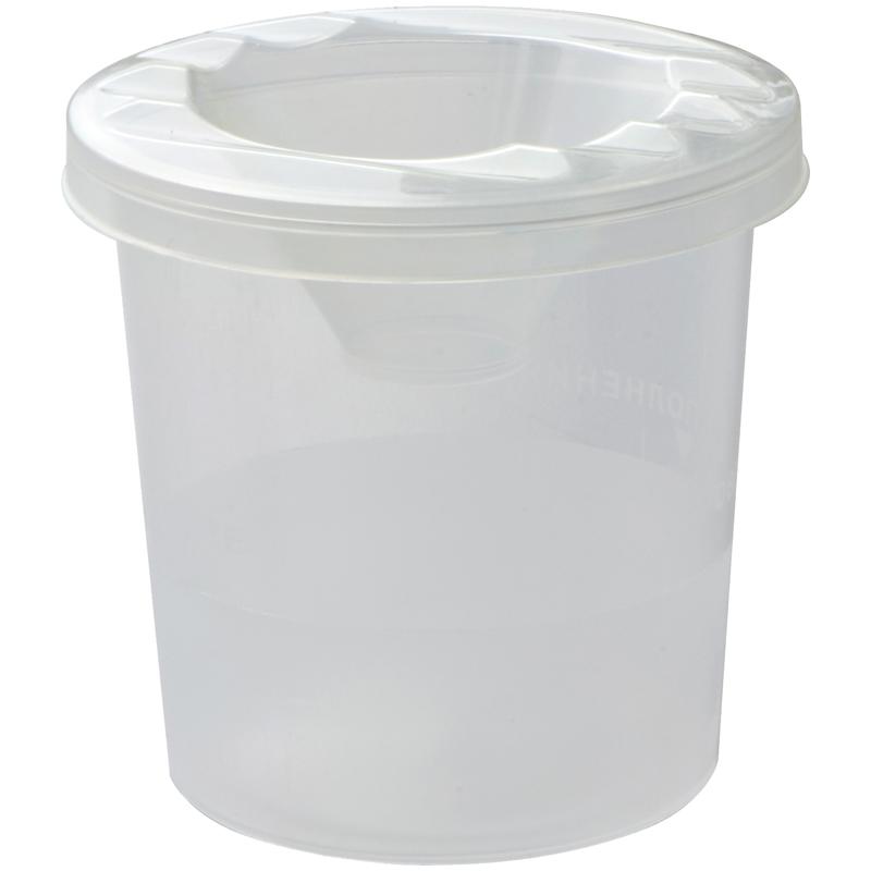 Стакан-непроливайка ArtSpace, белый, п/прозрачный СН_9335 / СН100